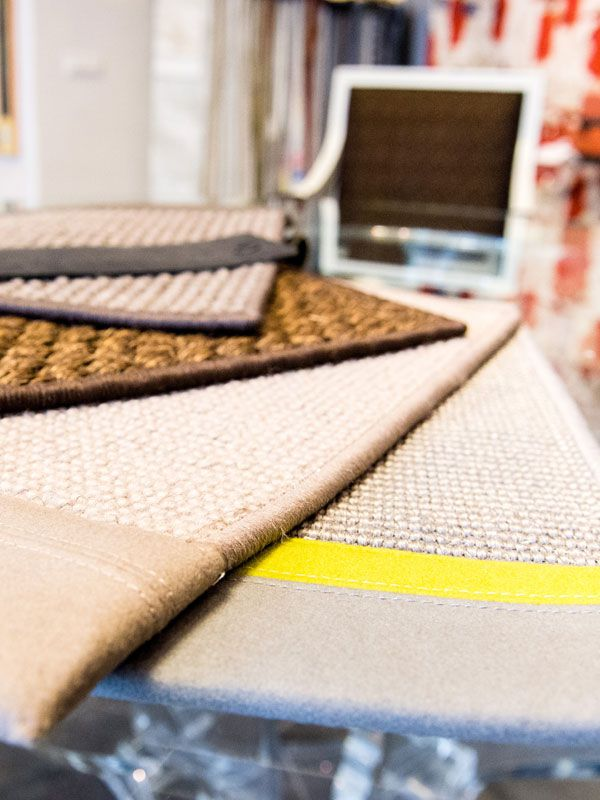 Tailor made carpets for private residence and public areas